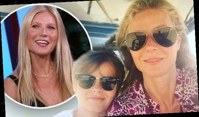 Gwyneth Paltrow's son thinks it's 'bad***' she sells sex toys on Goop