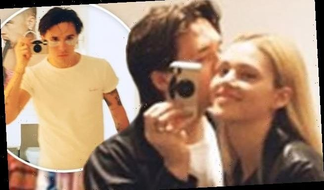 Brooklyn Beckham shares yet another impassioned smooch with girlfriend