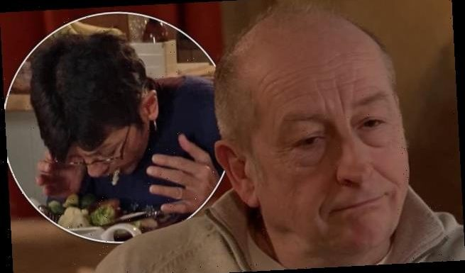 Corrie's Geoff tricks his wife Yasmeen into eating her OWN pet chicken