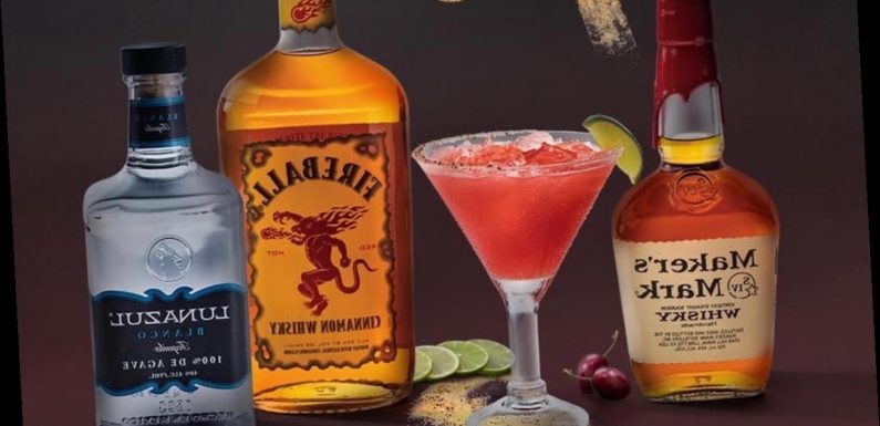 Chili's February 2020 Margarita Of The Month Will Turn Up The Heat