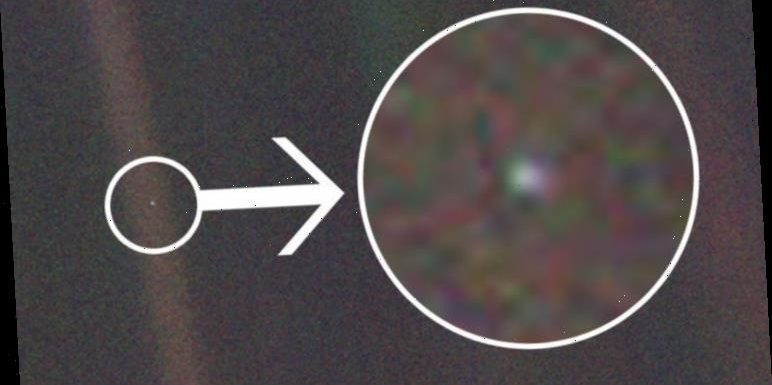 What is this pale blue dot 4 BILLION miles away in space…the answer will blow your mind