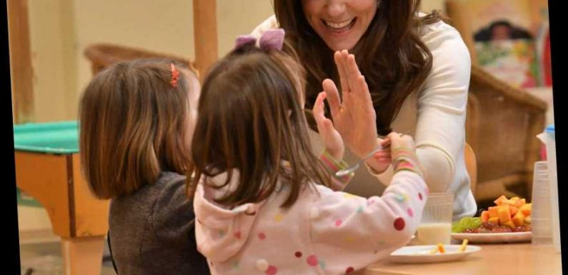 Kate Middleton calls on kids to be 'brave' and talk about their problems for Children's Mental Health Week