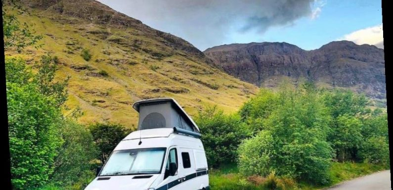 An action-packed campervan holiday in Scotland is guaranteed to leave the kids exhausted by bedtime