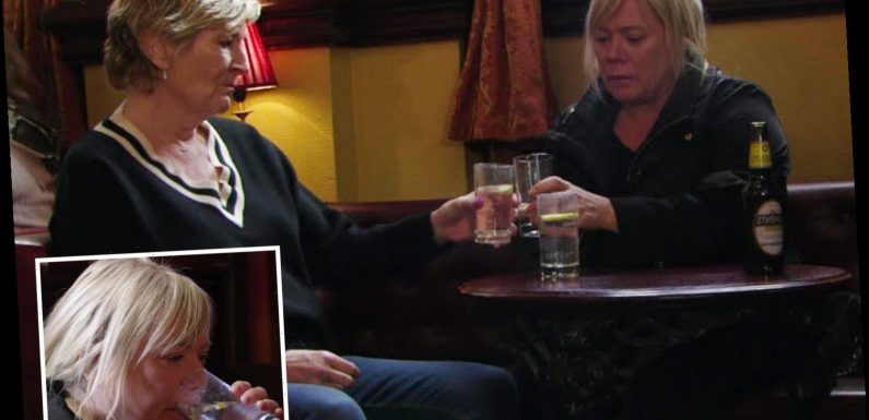 EastEnders viewers spot blunder as Sharon's glass magically fills with booze – The Sun