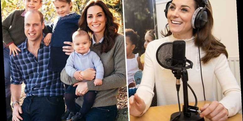 Kate Middleton reveals she looks back at her own childhood as inspiration for raising George, Charlotte and Louis – The Sun