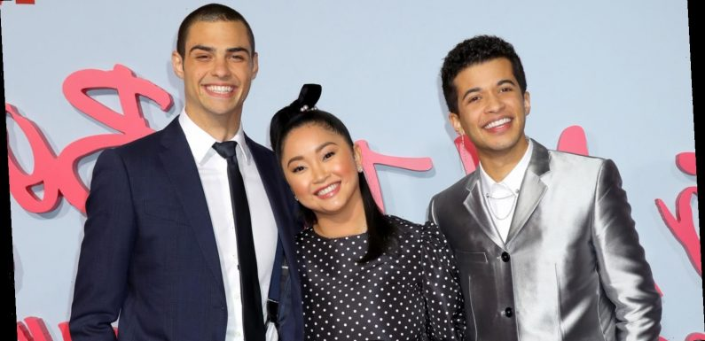 Lana Condor, Noah Centineo, & Jordan Fisher Premiere 'To All The Boys 2′ in Hollywood!