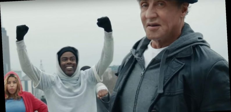 Facebook Super Bowl Commercial 2020: Sylvester Stallone & Chris Rock Are Ready to Rock