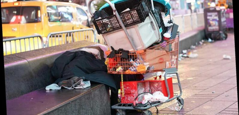 Cuomo says street homelessness under de Blasio 'bad as I have ever seen'