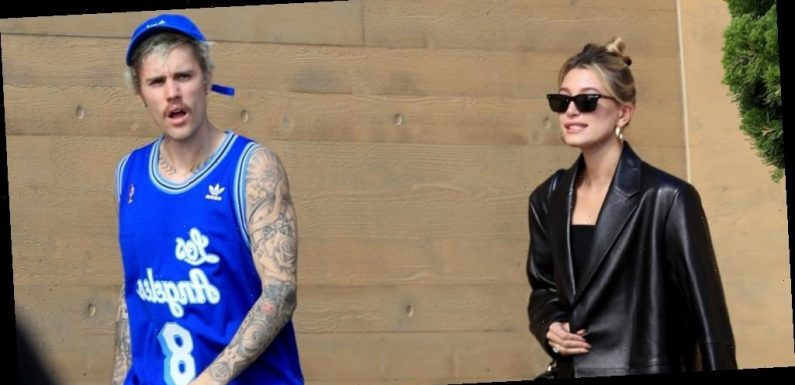 Justin Bieber Honors Kobe Bryant While Out to Lunch With Wife Hailey