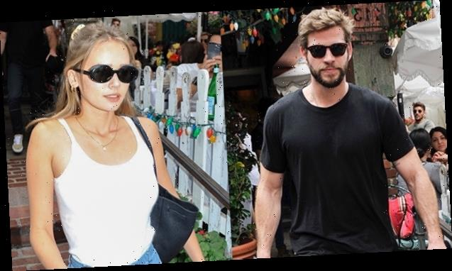 Liam Hemsworth Shows Off His Toned Arms In Black T-Shirt For Lunch Date With Gabriella Brooks