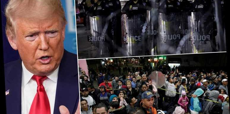 Migrants stormed US-Mexico border bridge in El Paso after Donald Trump's strategy overturned by 9th Circuit Court – The Sun