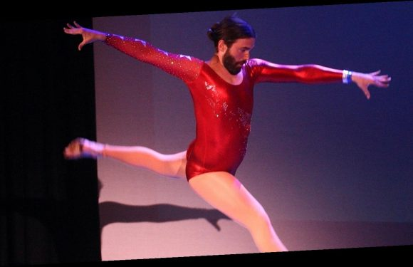 Queer Eye's Jonathan Van Ness Surprises His Sold-Out Perth Show with Gymnastics Routine!