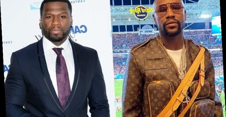 Floyd Mayweather Is Trolled for His Louis Vuitton Outfit, 50 Cent Jumps In