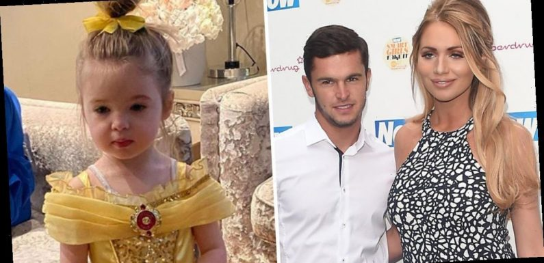 Amy Childs reveals daughter Polly calls her grandfather 'dad' instead of star's ex Bradley Wright