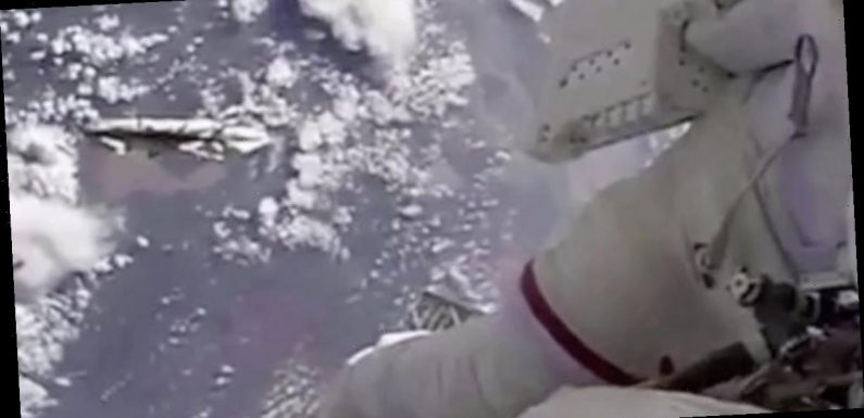 Live feed cuts and mystery objects spark claims ISS 'is being watched' by UFOs