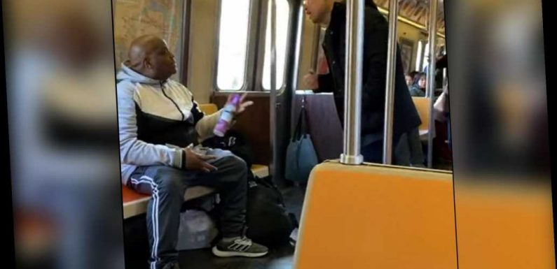 Straphanger sprays Asian man with Febreze in possible hate crime
