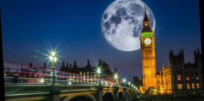 Full Moon 2020 UK live stream: Watch the Worm Moon Supermoon online from home tonight