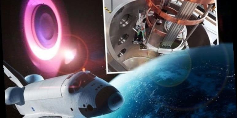Star shot: UK-built plasma rocket engine will let mankind COLONISE space, say experts