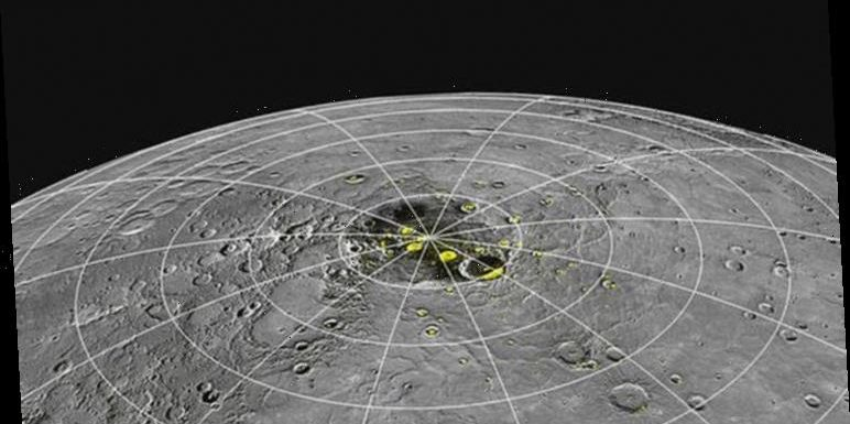 Asteroid shock: NASA reveals space rock responsible for '90%' of ice on 750F Mercury