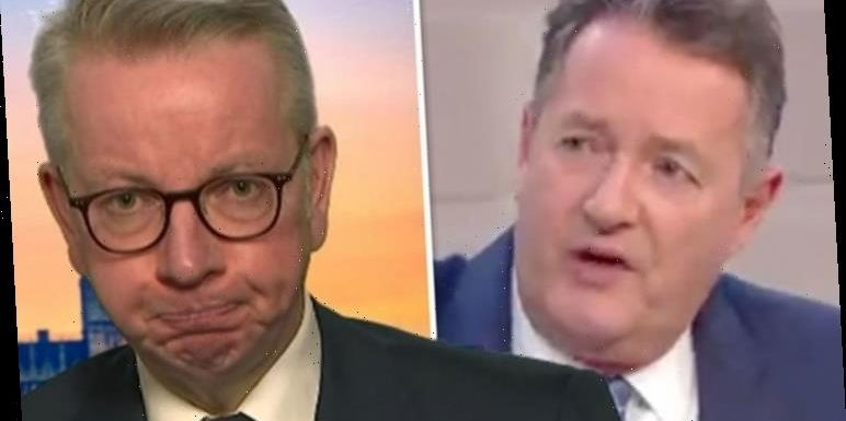 Piers Morgan tears into Michael Gove over 'lack of clarity' after Boris locks down UK