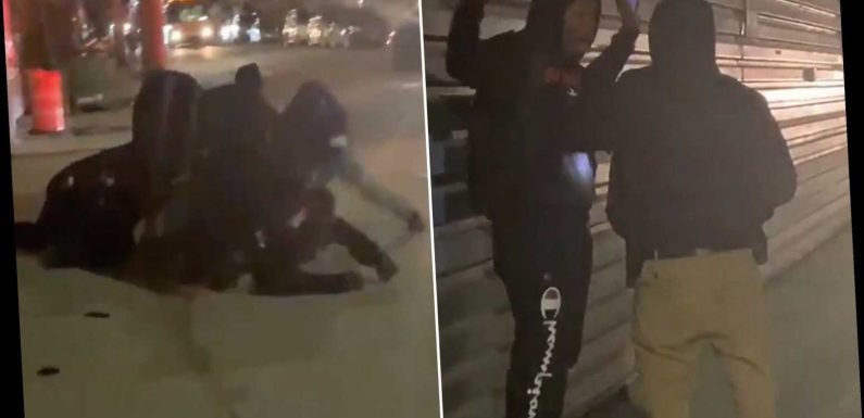 Viral video shows Brooklyn cops pouncing on man in marijuana bust