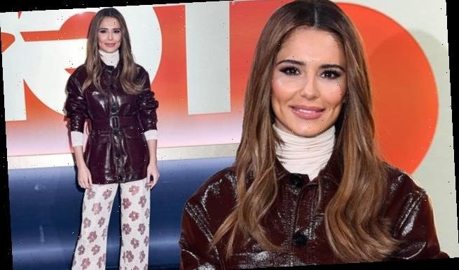 Cheryl wows as she attends The Greatest Dancer photocall