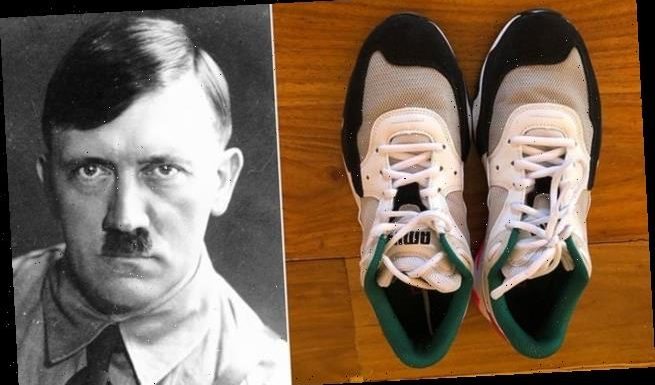 Puma trainers are mocked for looking like the Nazi leader