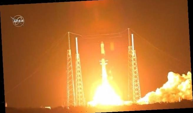 SpaceX launches station supplies, nails 50th rocket landing