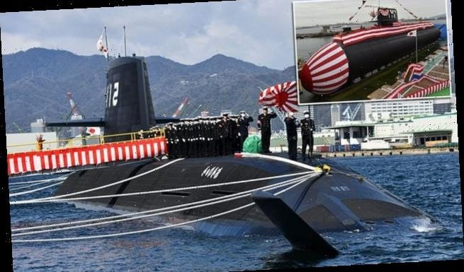 Japan welcomes lithium-ion battery powered submarine into service
