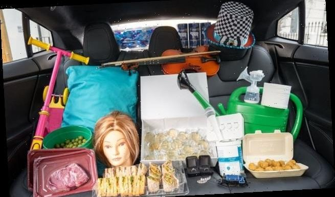 Uber UK reveals 'weird and wonderful items left behind on trips