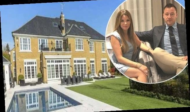 Chelsea star John Terry is selling his £5.5m Surrey mansion