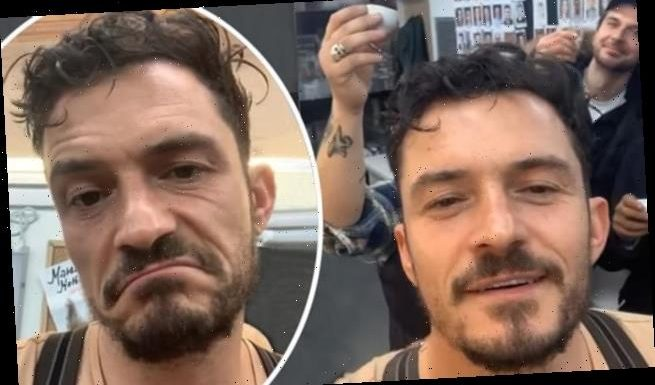 Orlando Bloom reveals Carnival Row set in Prague has been shut down