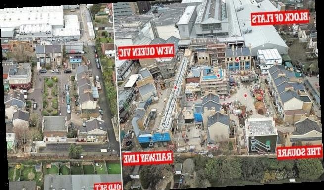 First Look at EastEnders £87m brand new set