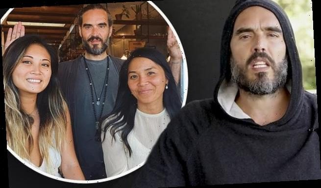 Russell Brand is 'stranded' in Australia amid COVID-19 pandemic
