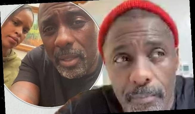 Idris Elba denies he's in 'critical condition' after hoax video claims
