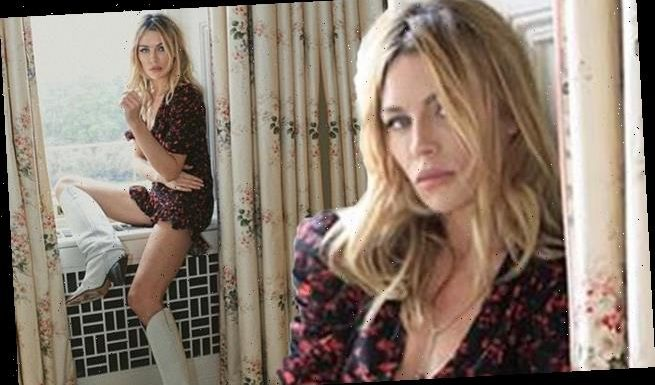Abbey Clancy shares a stunning selfie during self-isolation