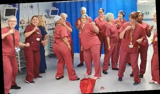 Great national round of applause for NHS staff this Thursday at 8pm