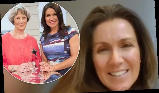 Susanna Reid video calls her mum Sue on Mother's Day as she isolates