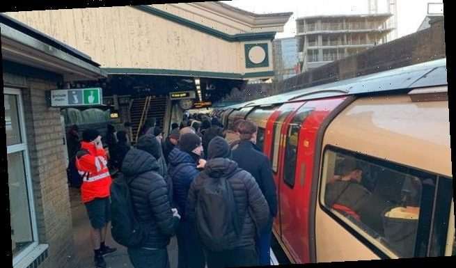 The coronavirus CRUSH hour! Fury as commuters are crammed onto Tubes