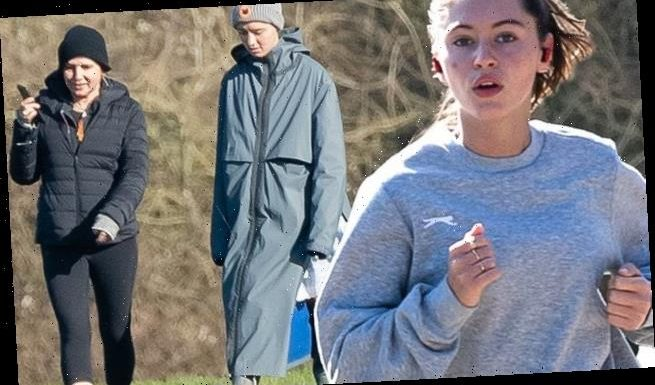 Iris Law isolates with brother Rafferty and mother Sadie Frost