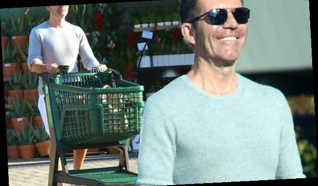 Simon Cowell stocks up on groceries in LA amid COVID-19 lockdown
