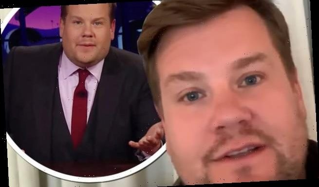 James Corden pays tribute to fans on Late Late Anniversary