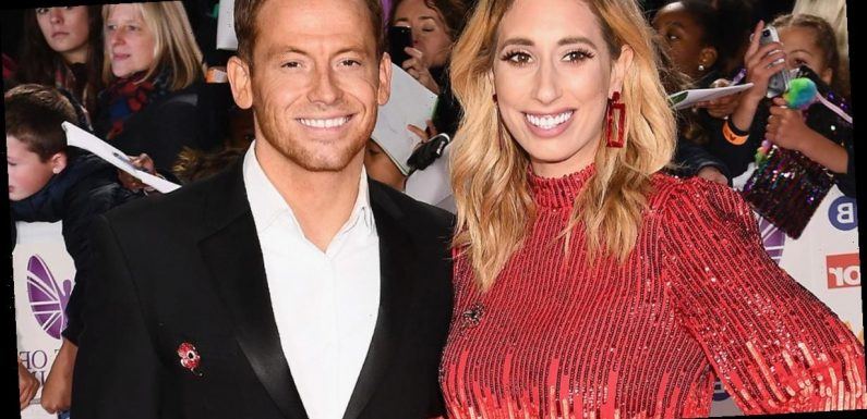 Joe Swash wants Stacey Solomon to do Dancing On Ice to 'see how hard it is'