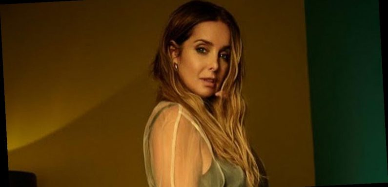 Louise Redknapp channels sexy stripper as she strips to leotard to kick off tour