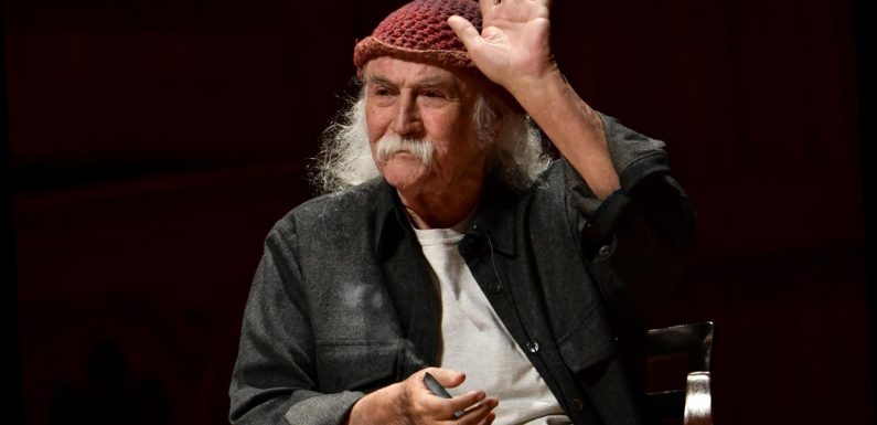 David Crosby Will Rate Your Joint