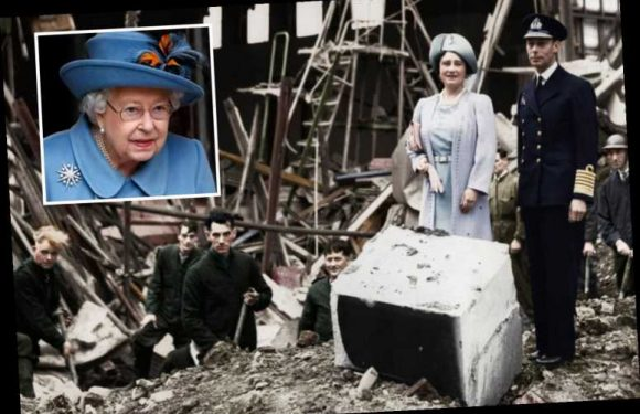 The Queen slept in the beetle-infested dungeons of Windsor Castle during The Blitz in WWII