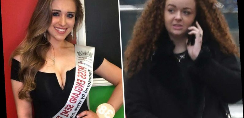 Miss England finalist, 21, 'glassed in the face by furious woman, 27, who branded her a slag in pub row'
