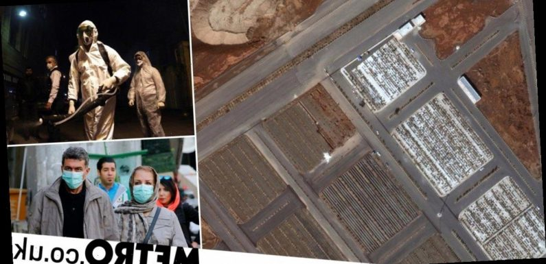 Satellite images show mass graves dug in Iran 'for coronavirus victims'