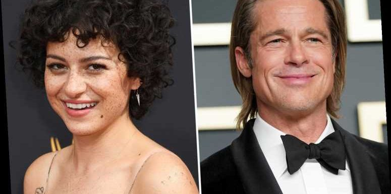 Brad Pitt and Alia Shawkat spark romance rumours as they're spotted at In-N-Out burger after seeing Thundercat play – The Sun