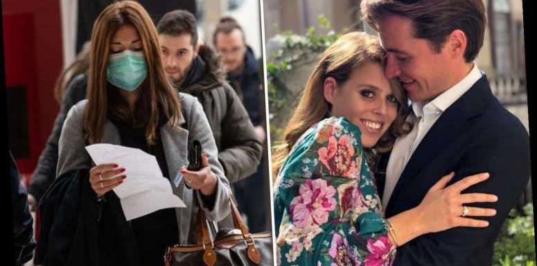 Coronavirus 'casts doubt' over Princess Beatrice's wedding as her Italian fiance's family may not be able to fly to UK